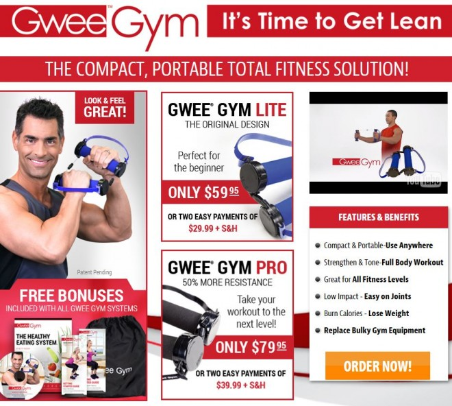 gwee gym reviews 2016